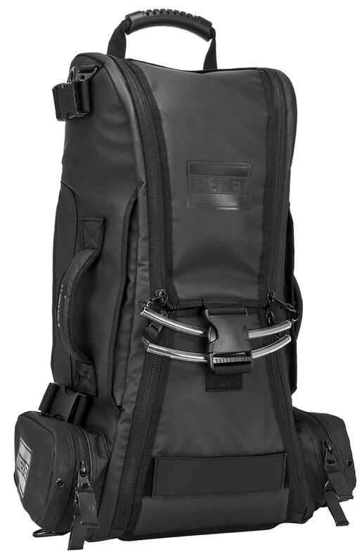 Meret RECOVER<sup>™</sup> PRO O2 Response Bag TS2 Ready<sup>™</sup>, Extended Height Infection Control, Black