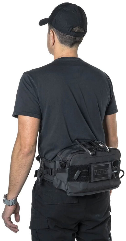 Meret FIRST-IN<sup>™</sup> PRO Sidepack TS2 Ready<sup>™</sup>, Black
