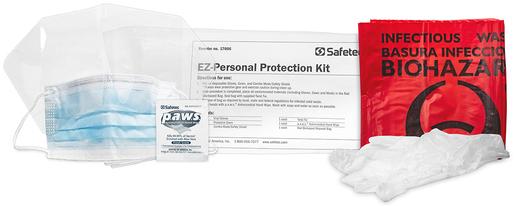 Safetec<sup>&reg;</sup> EZ-Personal Protection Kit