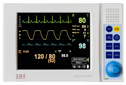 Zoe Medical Nightingale™ PPM3 Patient Monitor