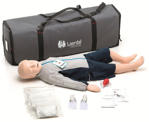 Laerdal Resusci Junior QCPR Manikin Kit