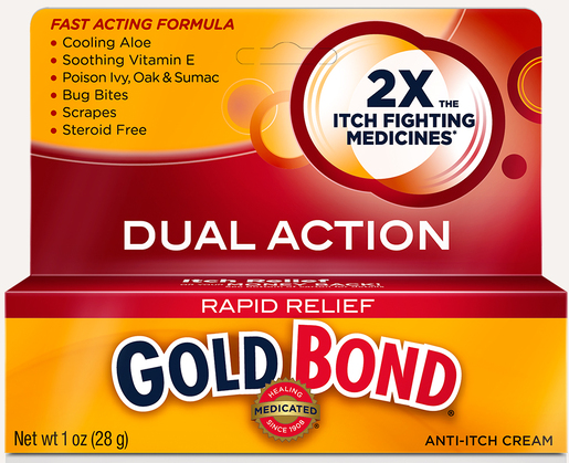 Gold Bond<sup>®</sup> Medication 1% Anti-itch Cream, 1oz