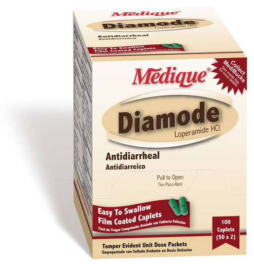 Diamode Anti-Diarrheal Medication, 24/box