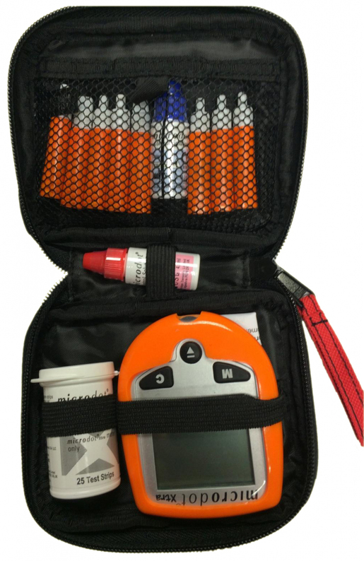 Microdot<sup>®</sup> Xtra Blood Glucose Meter Kit without Glucose Gel, Small
