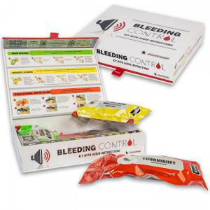 North American Rescue Bleeding Control Kit with Audio Instructions