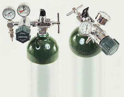 Allied Chemetron Bourdon Style Gauge Regulator