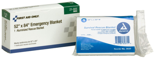First Aid Only<sup>®</sup> Pac-Kit Aluminized Thermal Rescue Blanket