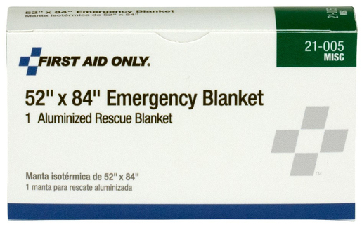 First Aid Only<sup>&reg;</sup> Pac-Kit Aluminized Thermal Rescue Blanket