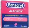 Benadryl<sup>®</sup> Allergy ULTRATAB<sup>®</sup> Tablets, 25mg