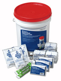 LifeSecure<sup>&reg;</sup> Emergency Response Kit, Extended Support, 25-person