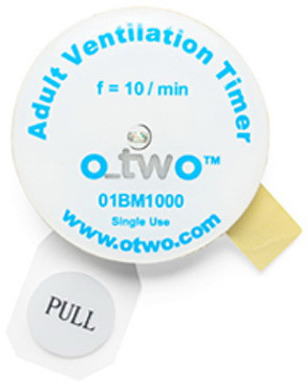 O-Two<sup>™</sup> Single-use Ventilation Timing Light
