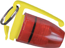 Pelican<sup>™</sup> Mini Flasher<sup>™</sup> LED Flashlight, Red Lens