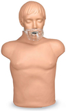 Face Shield/Lung System for Simulaids Sani Manikin