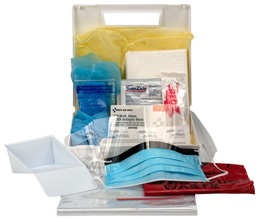 First Aid Only<sup>&reg;</sup> Bloodborne Pathogen/Personal Protection Kit with CPR Pack