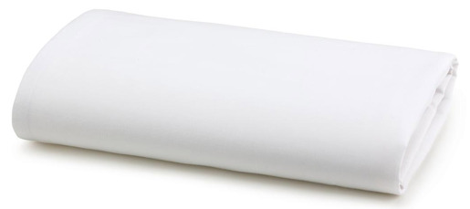 Hospital Bed Linen Sheet, Twin, Fitted Sheet, White