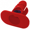ADC Stethoscope Tape Holder, Red