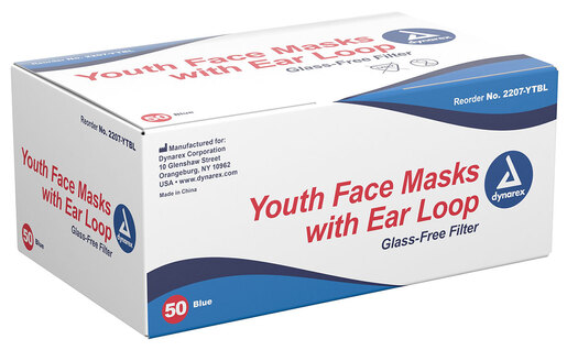 Dynarex Youth Face Masks