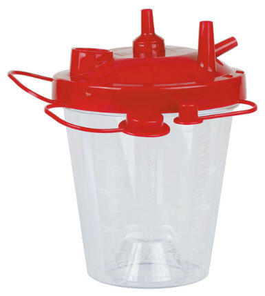 Curaplex<sup>&reg;</sup> Disposable Suction Canisters, Hydrophobic, 800cc