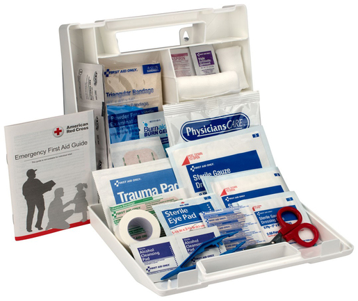 First Aid Only<sup>®</sup> Bulk First Aid Kit, 10-person