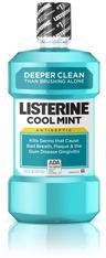Listerine Mouthwash, Cool Mint, 8.5oz