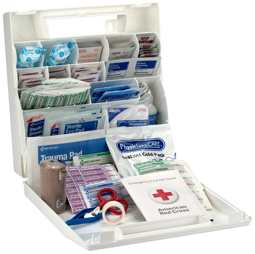 First Aid Only<sup>®</sup> Bulk First Aid Kit, 50-person