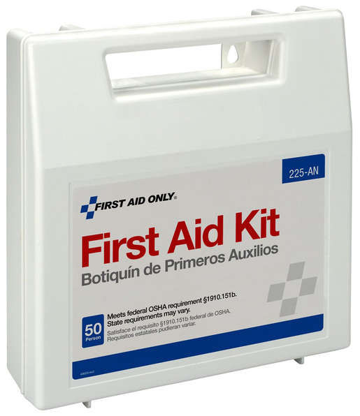 First Aid Only<sup>&reg;</sup> Bulk First Aid Kit, 50-person