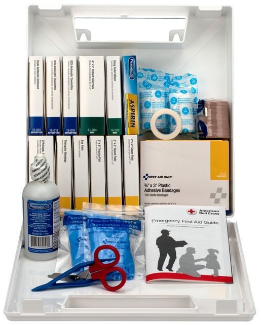 First Aid Only  196-piece Bulk First Aid Kit, 50 Person