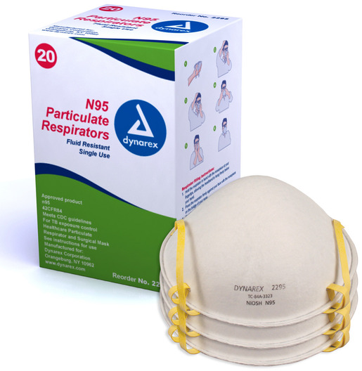 Dynarex<sup>®</sup> N95 Particulate Respirators