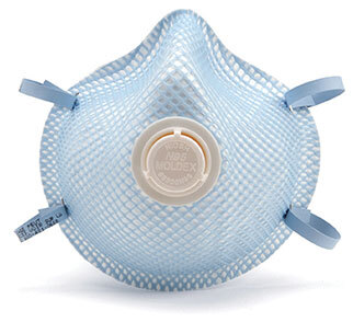 Moldex<sup>®</sup> N95 Respirator Mask with Valve, Medium/Large