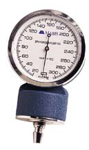 Replacement Aneroid Manometer for Mabis Blood Pressure Gauge, Blue