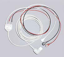 Kendall<sup>™</sup> Universal 3-Lead Cables, Straight Plug