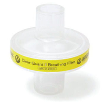 *Discontinued* Clear-Guard II Breathing Filter *Non-Returnable and Non-Cancelable*