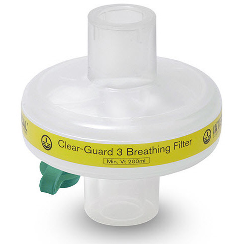 Clear-Guard 3 Breathing Filter with Luer Port