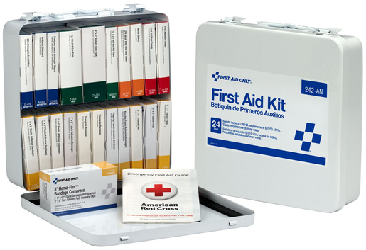 First Aid Only<sup>®</sup> Unitized First Aid Kit, 24 Unit