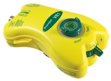 Smiths Pneupac VR1<sup>™</sup> Ventilator with Regulator, Circuit with PEEP Valve