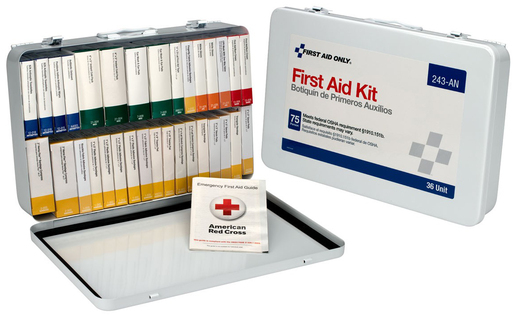 First Aid Only<sup>®</sup> Unitized First Aid Kit, 36 Unit