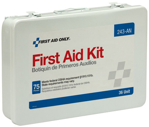 First Aid Only<sup>&reg;</sup> Unitized First Aid Kit, 36 Unit