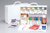 First Aid Only<sup>®</sup> Industrial First Aid Station, 2-shelf, 75-person