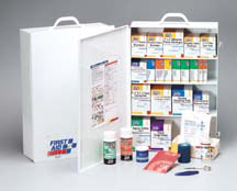 First Aid Only<sup>®</sup> 4-shelf Industrial First Aid Station