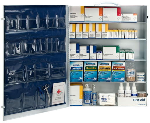 First Aid Only<sup>®</sup> Industrial First Aid Station, 5-shelf, 200-person