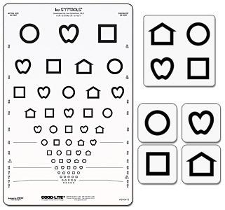 Good-Lite LEA Symbols Proportional-spaced Chart