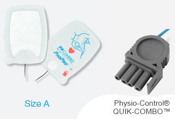 CONMED PadPro<sup>®</sup> Radiotranslucent Physio-Control<sup>®</sup> Multifunction Electrodes, Adult, Pre-connect