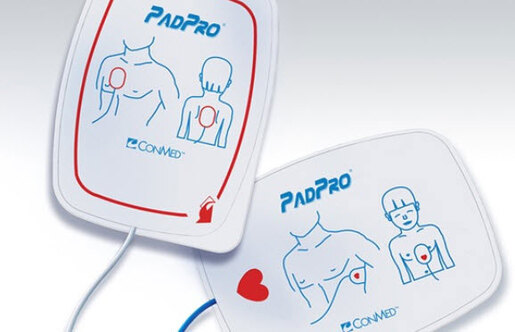 Conmed PadPro<sup>&reg;</sup> Radiotranslucent Multifunction Electrodes with Anderson/Universal Connector