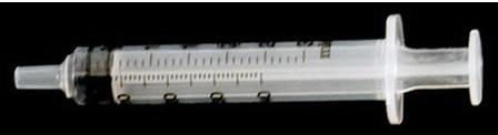 EXEL<sup>®</sup> Luer-Slip Syringe with Cap, 3cc