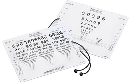 LEA Numbers Near Vision Test