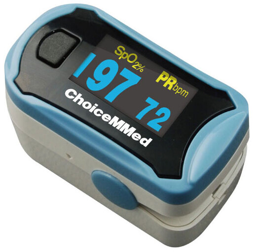 Curaplex<sup>®</sup> Fingertip Pulse Oximeter with SpO2 and Pleth Wave Form