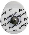Ambu<sup>®</sup> WhiteSensor ECG Electrodes, Center Stud, Solid Gel, 5/pkg