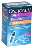 LifeScan<sup>™</sup> OneTouch<sup>&reg;</sup> Ultra Control Solution