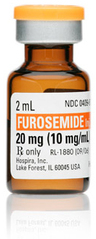 Furosemide, USP, Vial, 10mg/mL, 2mL
