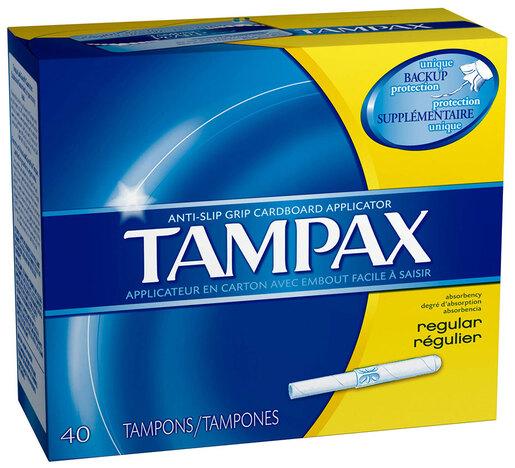 Tampax<sup>®</sup> Tampons, Regular